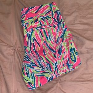 Lilly Pulitzer The Callahan Short Pink White